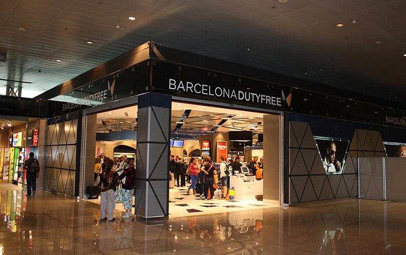 Tienda aeropuerto de Barcelona
