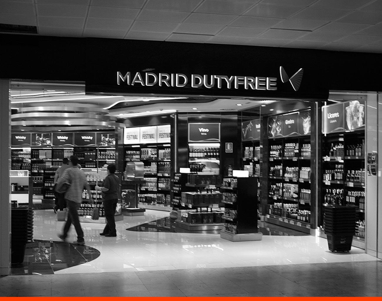 Tienda New Walk Trough T2 Madrid