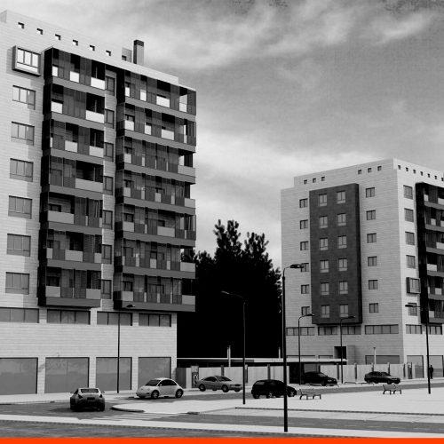 52 Viviendas en Parcela A4 Almacenes Municipales (León)