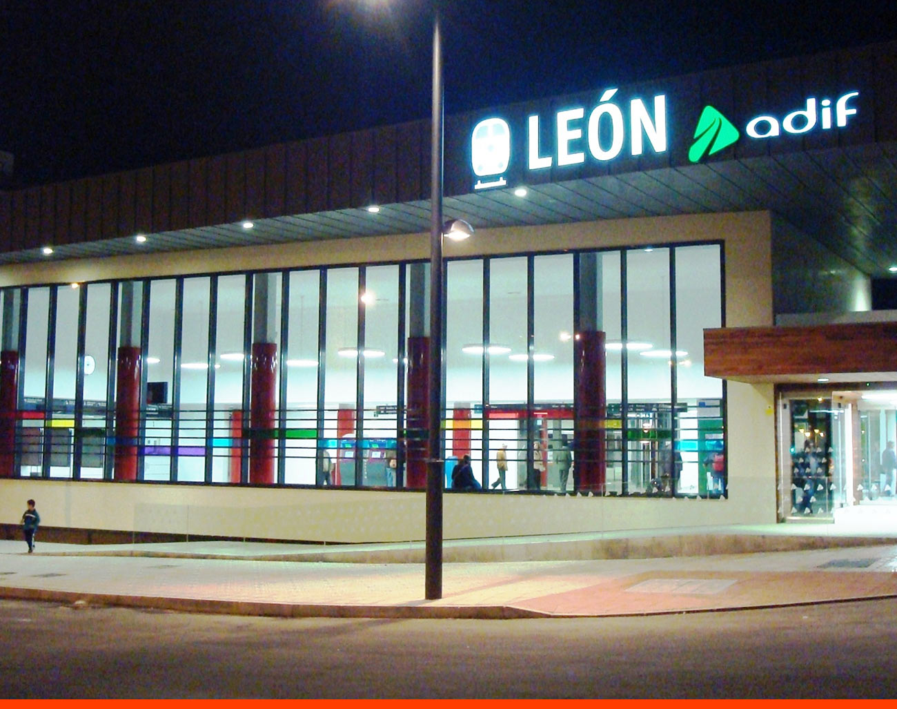 Estación del AVE de León